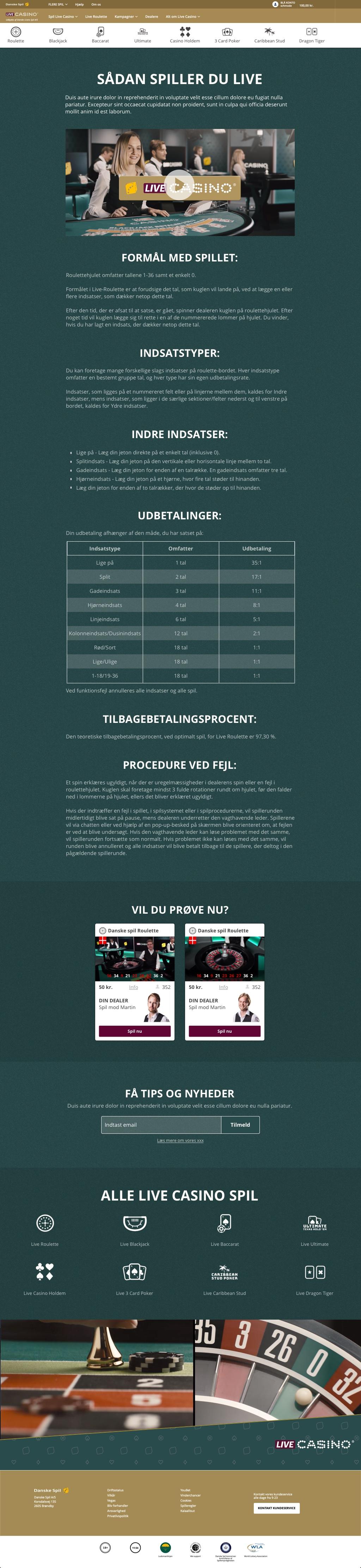 danske spil live betting trends